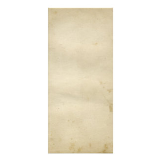 Gorgeous Antique Stained Paper 1800's Inspired Rack Card