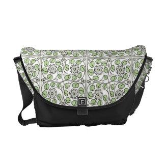 Gorgeous  Art Nouveau Floral, Foliage Bag Messenger Bag
