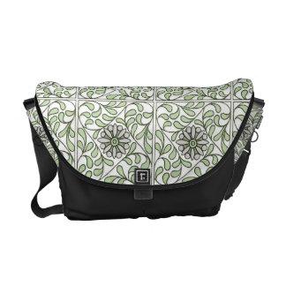 Gorgeous Art Nouveau Swirly Floral Commuter Bag