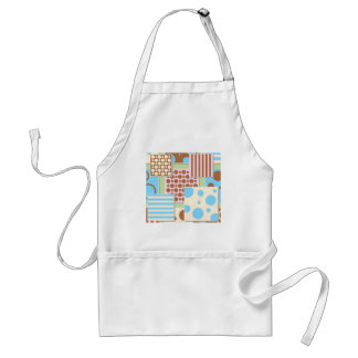 GORGEOUS BABY PATTERNS ADULT APRON