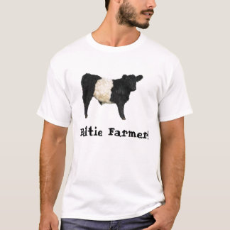 Gorgeous Belted Galloway Steer Cutout T-Shirt