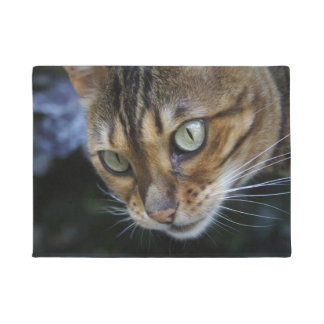 Gorgeous Bengal Cat Doormat