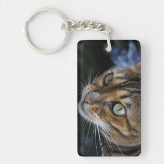Gorgeous Bengal Cat Keychain