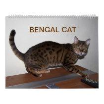 Gorgeous Bengal Cats 2018 Calendar