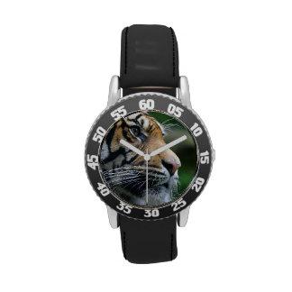 Gorgeous Bengal Tiger Face Wrist Watch
