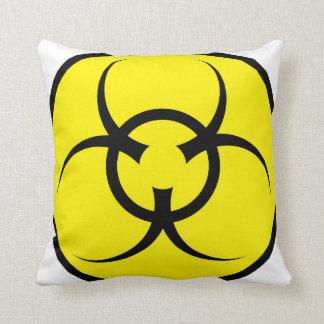 Gorgeous Biohazard Pillow