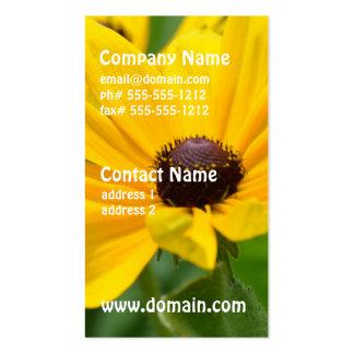 Gorgeous Black Eyed Susan Business Card