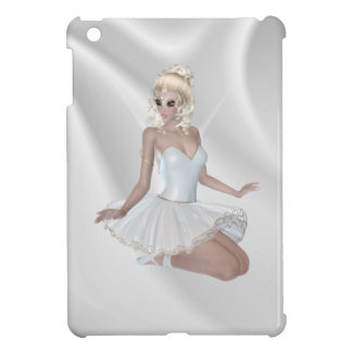 Gorgeous Blond Ballerina in White Dress iPad Mini Covers
