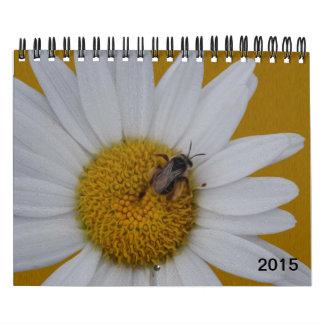 Gorgeous blooming spring summer flowers 2015 calendar