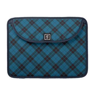 Gorgeous Blue Plaid, Tartan, Criss Cross Patten Sleeve For MacBook Pro