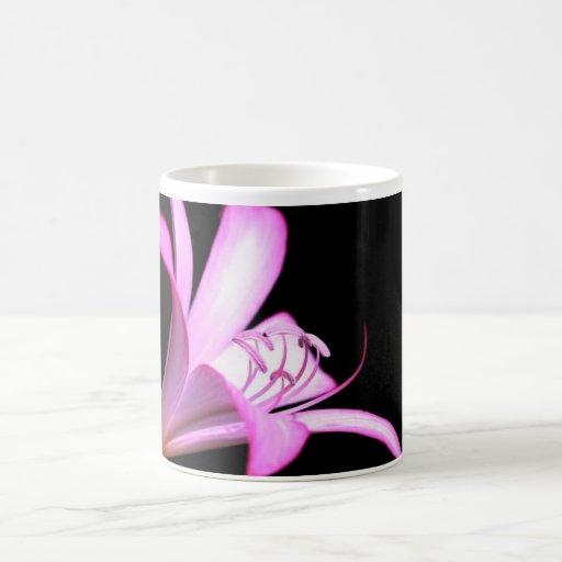 Gorgeous bright pink flower- Beautiful Classic White Coffee Mug