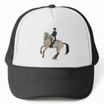 Gorgeous Buckskin Dressage Horse Art Trucker Hat
