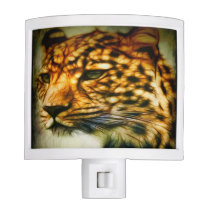 Gorgeous Cheetah Night Light