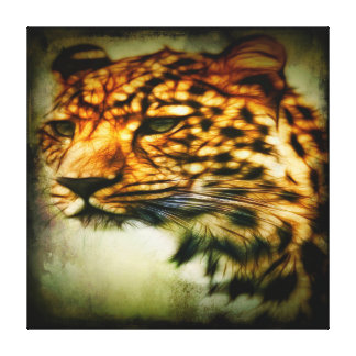 Gorgeous Cheetah Wrapped Canvas Canvas Print