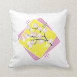 Gorgeous Cherry Blossom Home Decor - Throw Pillow
