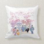 Gorgeous Cherry Blossom Home Decor - Throw Pillows