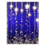 Gorgeous Christmas Star Night Image by BestPeople Note Books