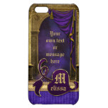 Gorgeous Classic Arch Columns Violet Drapes Gold iPhone 5C Covers