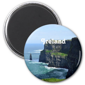 Gorgeous Cliffs of Moher 2 Inch Round Magnet
