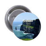 Gorgeous Cliffs of Moher Buttons