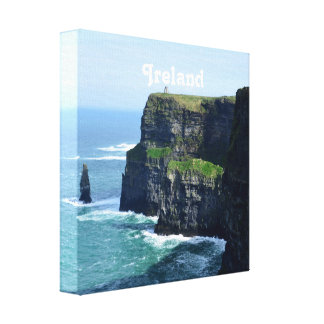 Gorgeous Cliffs of Moher Stretched Canvas Print