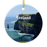 Gorgeous Cliffs of Moher Ceramic Ornament