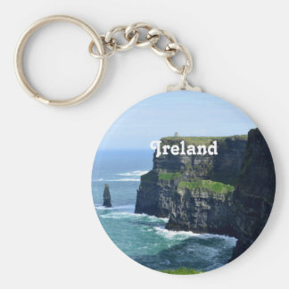 Gorgeous Cliffs of Moher Keychain