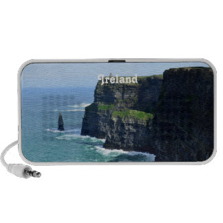 Gorgeous Cliffs of Moher Laptop Speakers