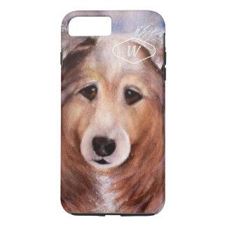 GORGEOUS COLLIE iPhone 8 PLUS/7 PLUS CASE