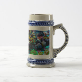 Gorgeous Coral Reef Beer Stein