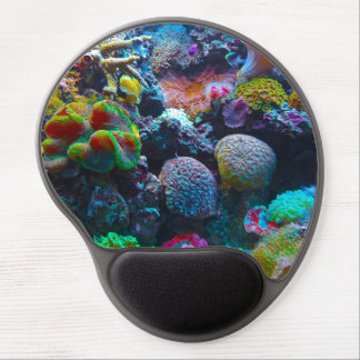 Gorgeous Coral Reef Gel Mouse Pad
