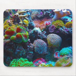 Gorgeous Coral Reef Mouse Pads