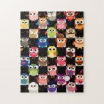 Gorgeous Custom Owl Jigsaw Puzzles