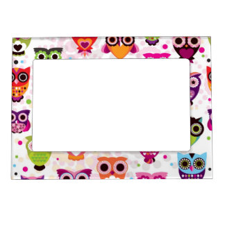 Gorgeous Custom Owl Magnetic Frame