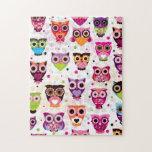 Gorgeous Custom Owl Puzzle