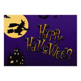 Gorgeous Custom Witch Happy Halloween - Invitation