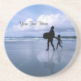 Gorgeous Customizable Father & Child Coaster