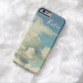 Gorgeous Day Big Fluffy Clouds, Lake Michigan Sky Barely There iPhone 6 Case