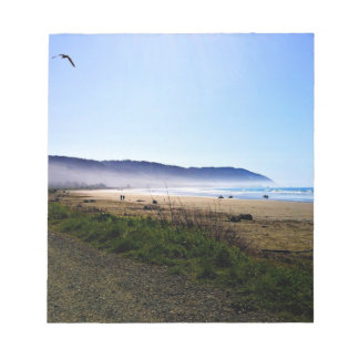 Gorgeous Day in Crescent City Beach, California Notepad
