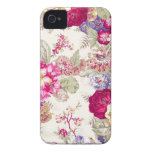 Gorgeous Display of Roses Vintage Image Design iPhone 4 Case