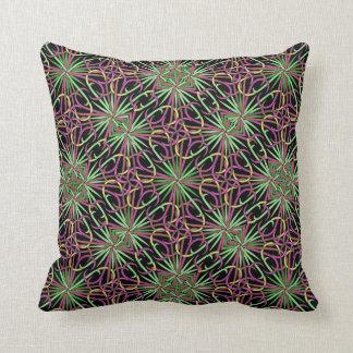 Gorgeous Electro Magnetic Design Throw Pillow
