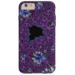 Gorgeous Elegant Violet Purple Intricate Fractal Tough iPhone 6 Plus Case