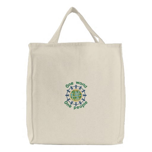 Gorgeous Embroidered Tote Bag