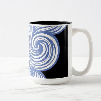 Gorgeous Fabulous Clever Nice Two-Tone Coffee Mug