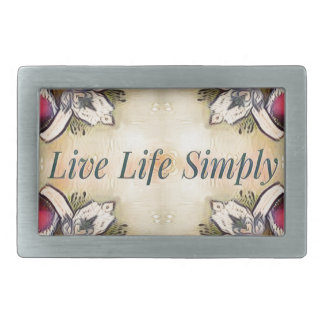 Gorgeous  Fall Yellow Simple Lifestyle Home Decor Rectangular Belt Buckle
