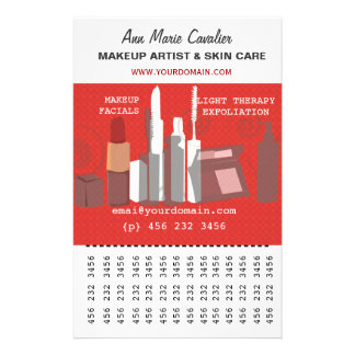 Gorgeous Fashion Beauty Makeup Artist Business Flyer