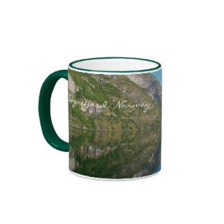 Gorgeous fjords Norway Coffee Mug