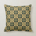 Gorgeous Floral Abstract Throw Pillow