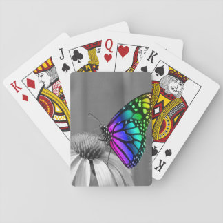 Gorgeous Floral Butterfly Playing Cards