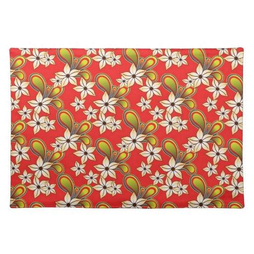 Gorgeous Floral Cloth Placemat